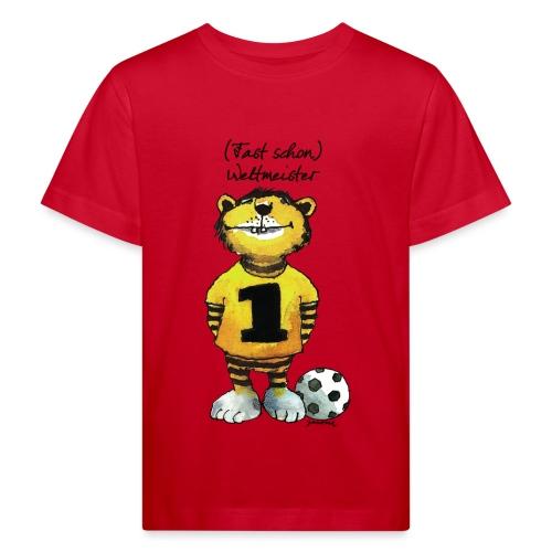 Janosch Tiger Fast Schon Weltmeister - Kinder Bio-T-Shirt