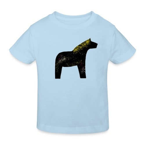 Dala Pinni Art® black - Kinder Bio-T-Shirt