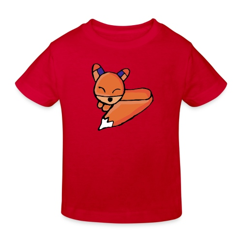 Edo le renard - T-shirt bio Enfant