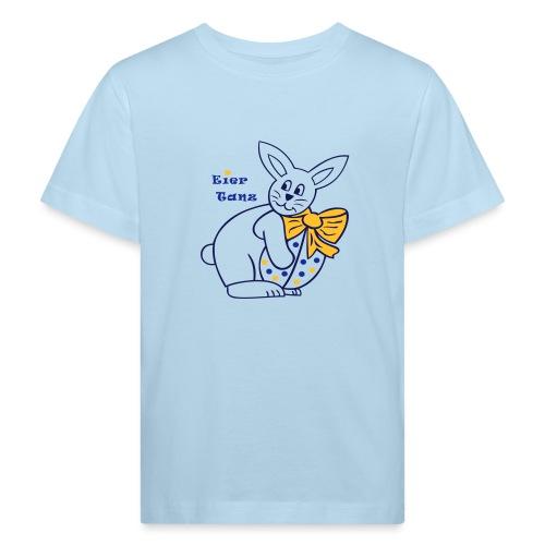 Eiertanz mit Osterhase und Osterei - Kinder Bio-T-Shirt