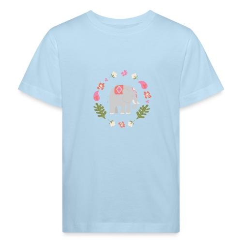 Indian elephant - Maglietta ecologica per bambini
