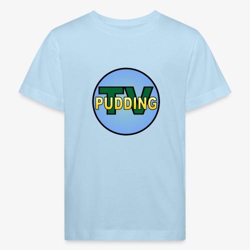 Pudding-TV - Økologisk T-skjorte for barn