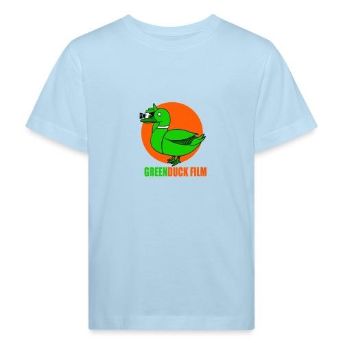 Greenduck Film Orange Sun Logo - Organic børne shirt