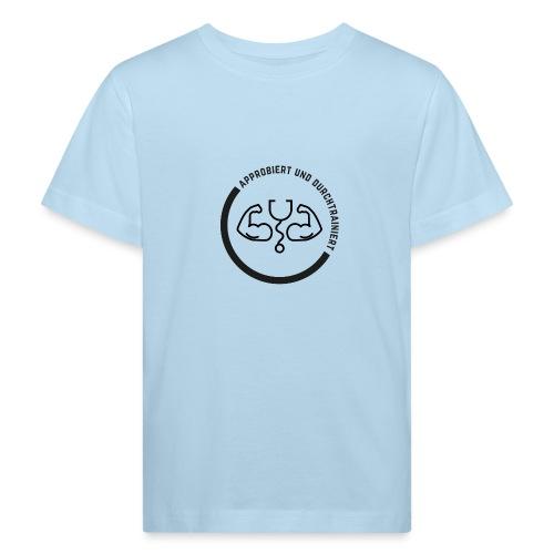 Approbiert und durchtrainiert (DR4) - Kinder Bio-T-Shirt