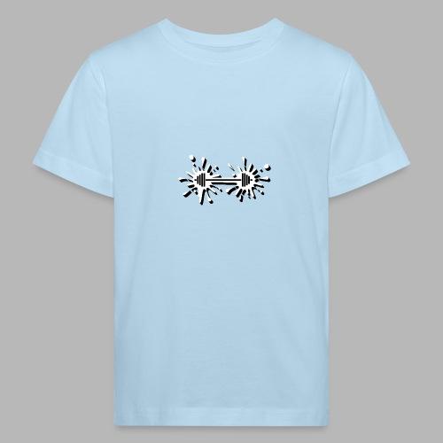 Hantel Splash - Kinder Bio-T-Shirt