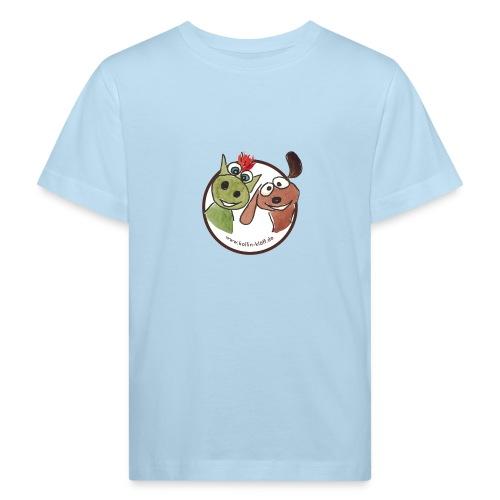 Kollin Kläff - Hund und Drache Blitz - Kinder Bio-T-Shirt