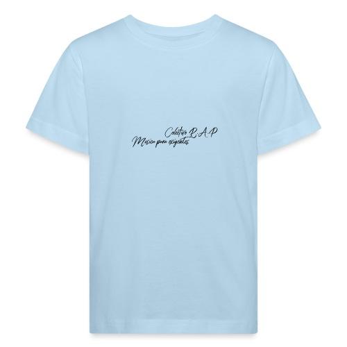 SOLO PARA AMANTES DEL RAP// Colectivo R.A.P - Camiseta ecológica niño