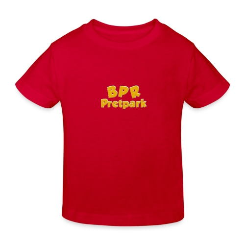 BPR Pretpark logo - Kinderen Bio-T-shirt