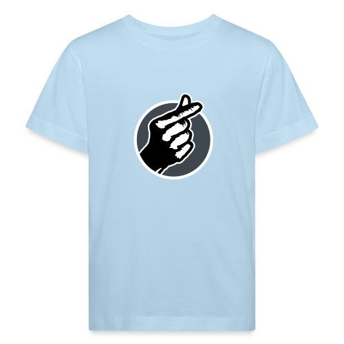 Koreaans Vingerhartje - Kinderen Bio-T-shirt