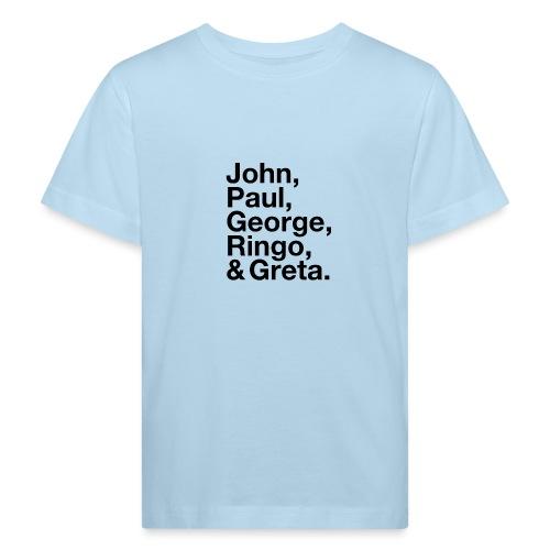 JPGRG black - Kinder Bio-T-Shirt