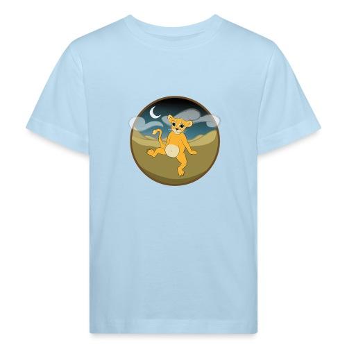 Der Kleine Löwe - dunkel - Kinder Bio-T-Shirt