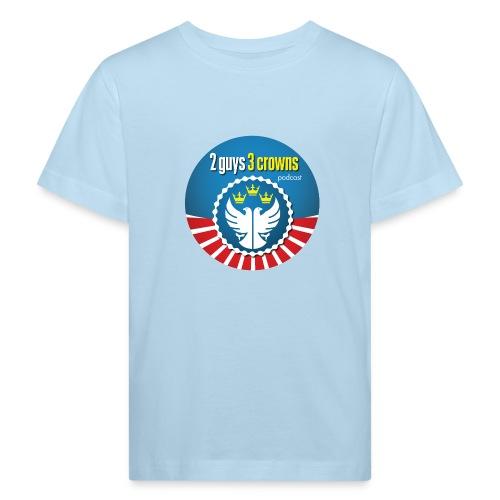 Classic Round 2G3C Logo - Kids' Organic T-Shirt