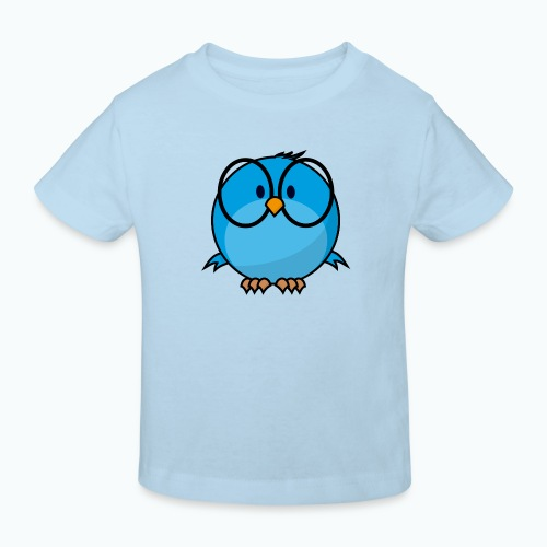 Birdie Bob - Appelsin - Ekologisk T-shirt barn