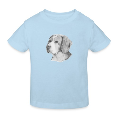 beagle M - Organic børne shirt
