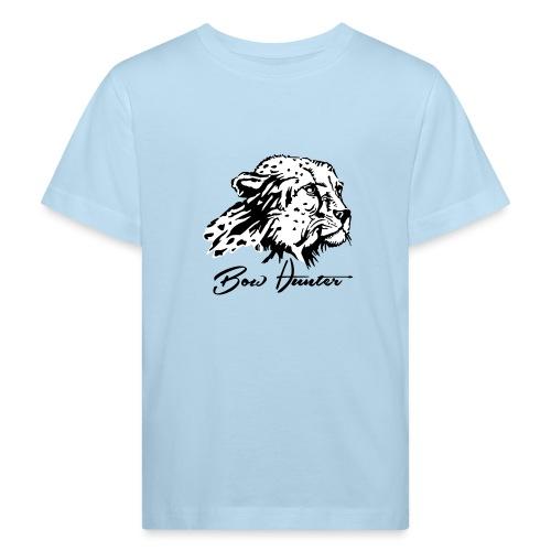 Bow Hunter Gepard 2 färbig - Kinder Bio-T-Shirt