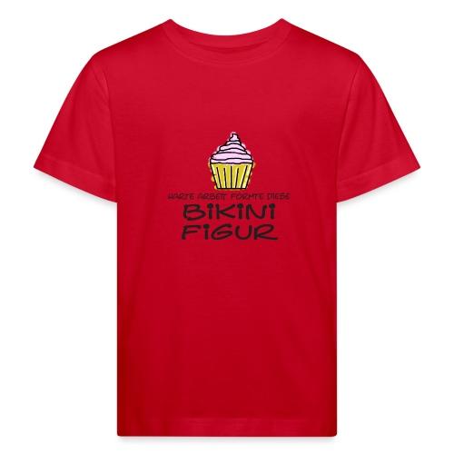 Bikinifigur. - Kinder Bio-T-Shirt