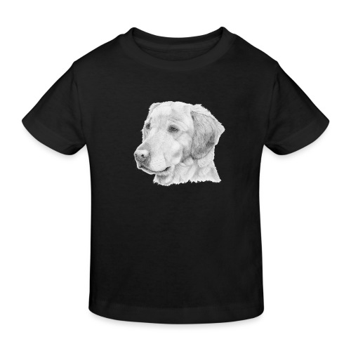 Golden retriever 2 - Organic børne shirt