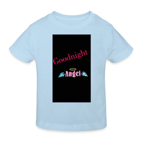 goodnight Angel Snapchat - Kids' Organic T-Shirt