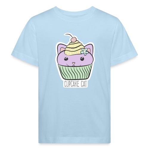 Cupcake Cat - Kinder Bio-T-Shirt