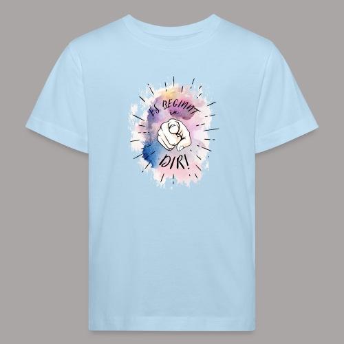 shirt bunt tshirt druck - Kinder Bio-T-Shirt