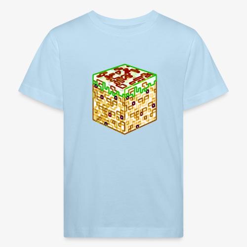 Neon Block - Kids' Organic T-Shirt