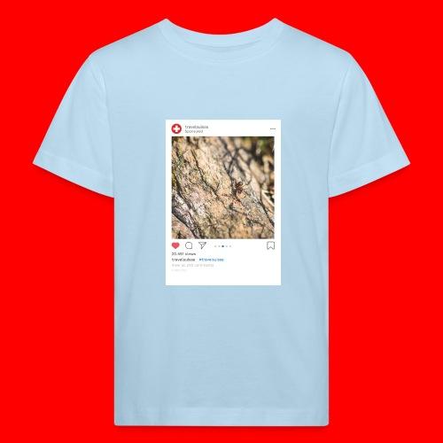 travelsuisse - Ameise Balzers - Kinder Bio-T-Shirt