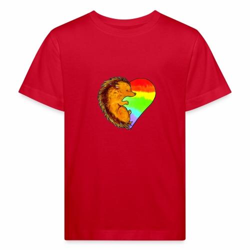RICCIO - Maglietta ecologica per bambini