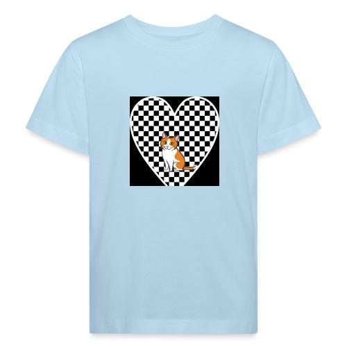 Charlie the Chess Cat - Kids' Organic T-Shirt