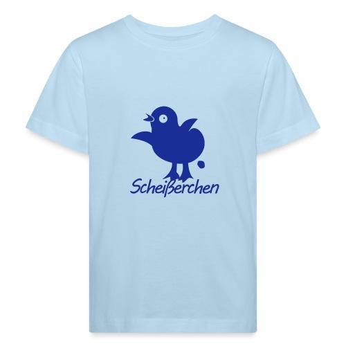 Küken - Scheißerchen - Kinder Bio-T-Shirt