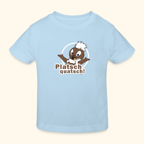 Pittiplatsch 2D Platschquatsch - Kinder Bio-T-Shirt