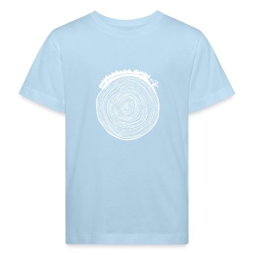 Kattoo Weiß - Kinder Bio-T-Shirt