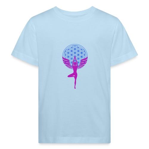 fleur de vie yoga n°1 - T-shirt bio Enfant