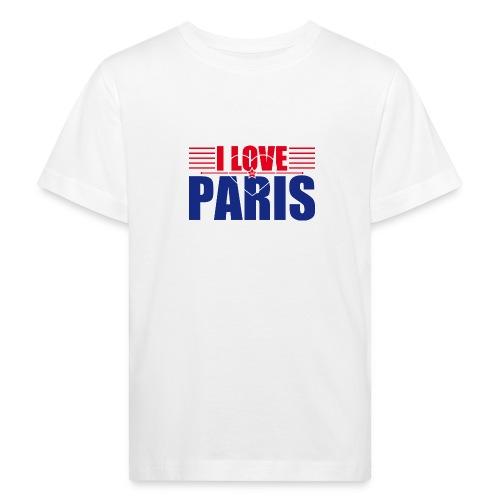 love paris - T-shirt bio Enfant