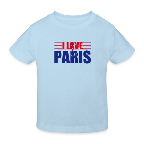 love paris - T-shirt bio Enfant
