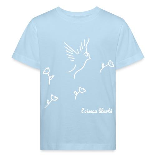 L'oiseau liberté (version light) - T-shirt bio Enfant