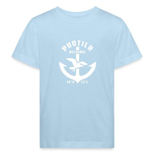 Puotila Helsinki Ankkuri tekstiilit ja lahjat - Lasten luonnonmukainen t-paita