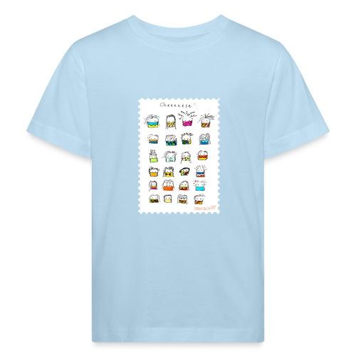 Cheese! - Kinder Bio-T-Shirt