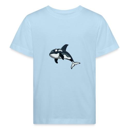 Lustiger orca - Kinder Bio-T-Shirt