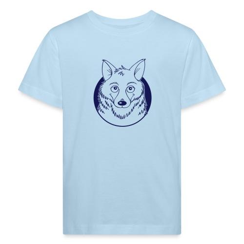 warmherziger Wolf - Kinder Bio-T-Shirt