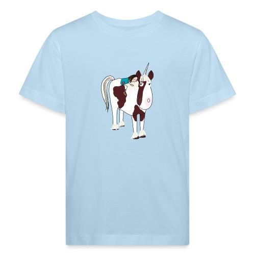 LOTTE und ein Einhorn - Kinder Bio-T-Shirt