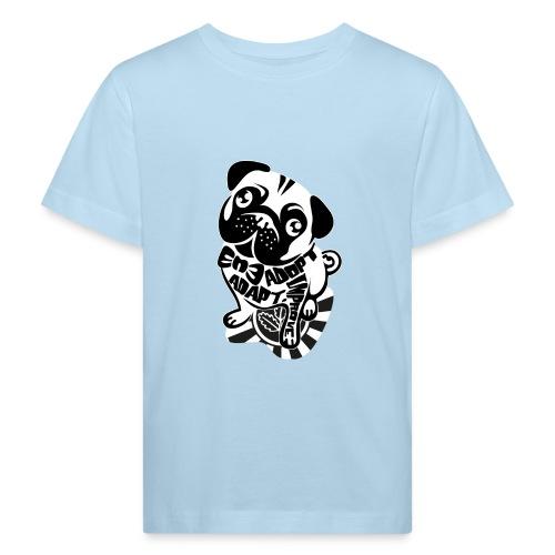 adopt adapt improve bulldog - Kinder Bio-T-Shirt