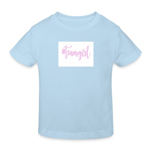 Team girl - Kinderen Bio-T-shirt
