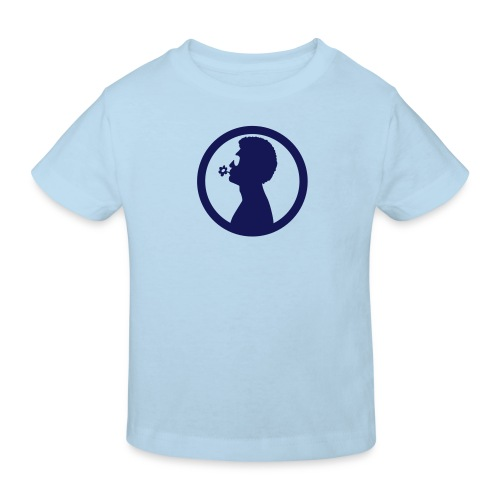 William White Flower logo - Kids' Organic T-Shirt