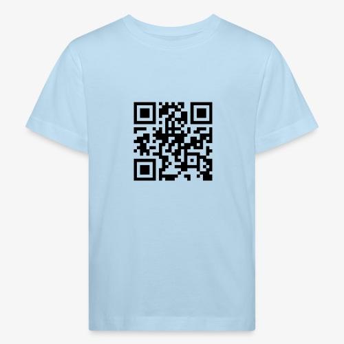 QR Code - Kids' Organic T-Shirt