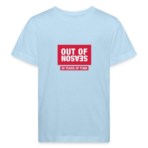 OOS RED - Organic børne shirt