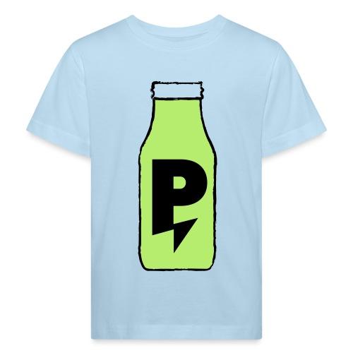 PWRPLNT_SMOOTHIE_BOTTLE_P - Kids' Organic T-Shirt