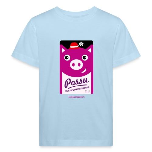 Possu - Lasten luonnonmukainen t-paita
