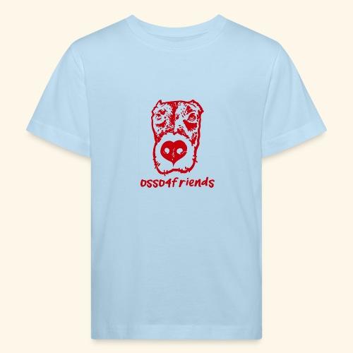 Logo ROSSO TRASPARENTE creative - Maglietta ecologica per bambini