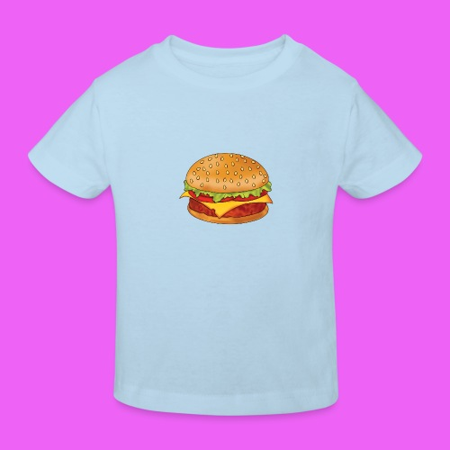 hamburguesa - Camiseta ecológica niño