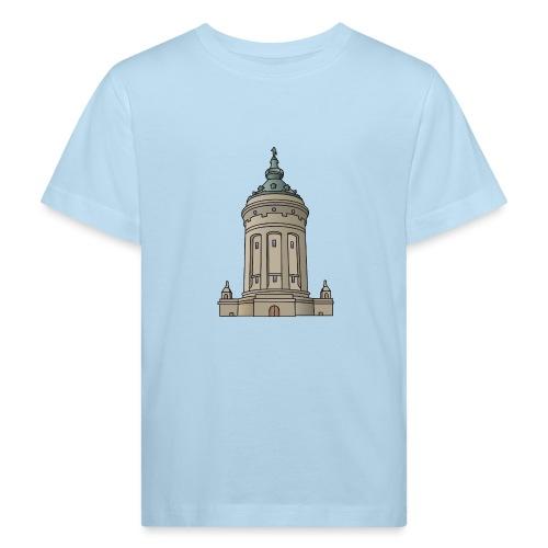 Wasserturm Mannheim c - Kinder Bio-T-Shirt